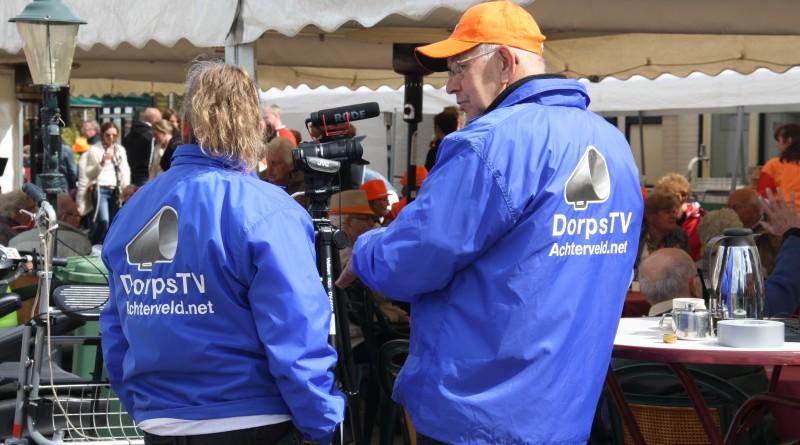 Vrijwilligers van DorpsTV Achterveld