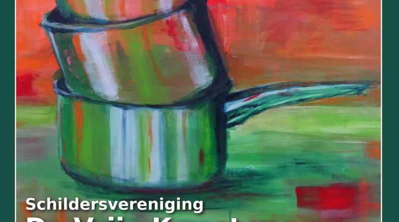 Schilderijenexpositie De Vrije Kwasten 2016