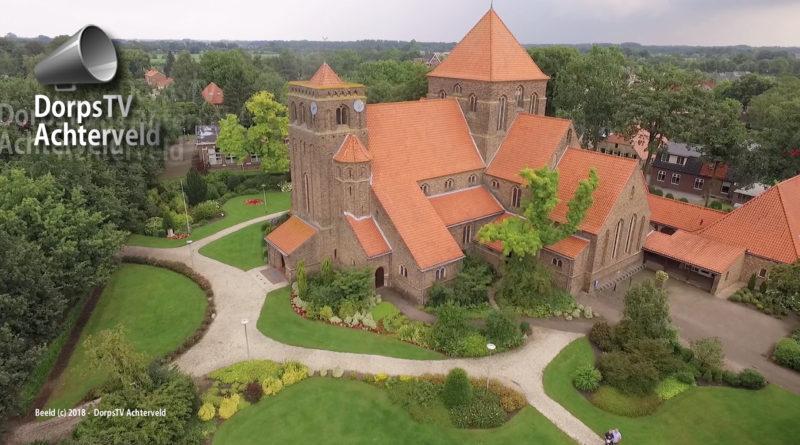 Jozefkerk vanuit de lucht.