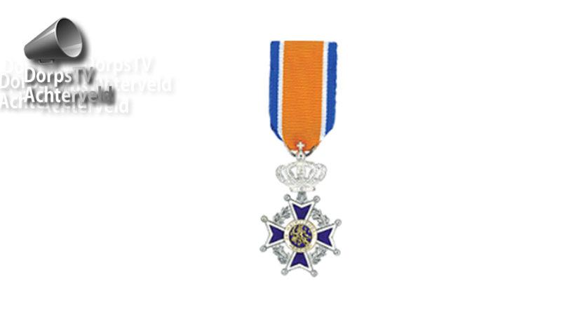 Lintje Lid in de Orde van Oranje-Nassau