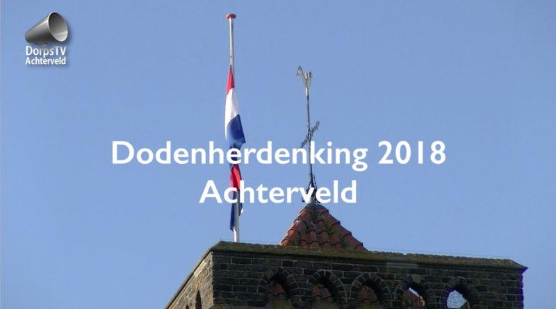 dodenherdenking 2018