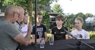 Tour de Junior opname DorpsTV Achterveld zaterdag