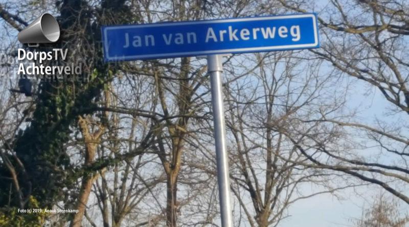 Jan van Arkelweg of Jan van Arkerweg.
