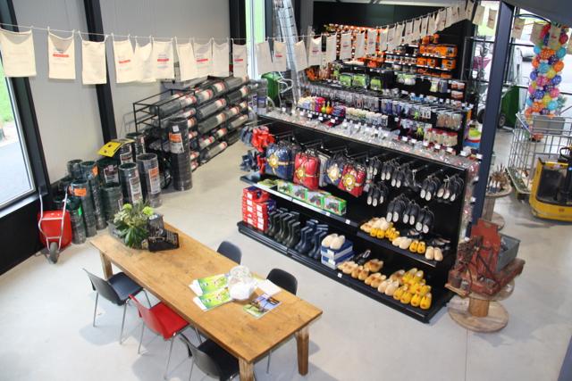 De neiuwe boerderijwinkel van Wolswinkel