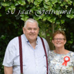 Peter en Gerda van den Akker 50 jaar getrouwd