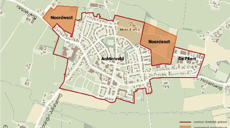 zoekgebieden nieuwbouw Hessenweg - De Fliert