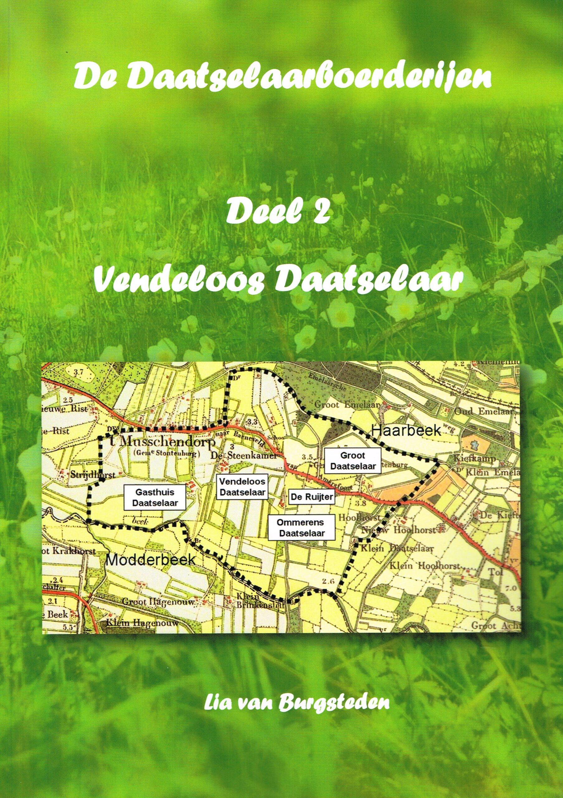 Boek boerderij Vendeloos Daatselaar