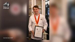 Sander de Vette wint kookwedstrijd