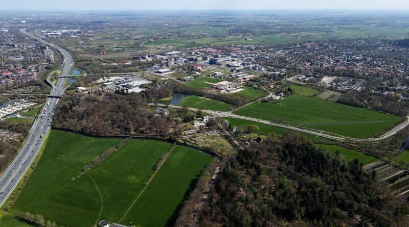 luchtfoto- gemeente Leusden